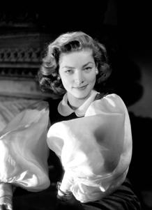Lauren Bacall publicity photo, ca. 1957