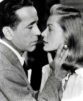 Humphrey Bogart & Lauren Becall as Slate Shannon & Sailor Duval