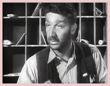 Peter Leeds as a hopeless drunk in Dragnet, ca. 1954