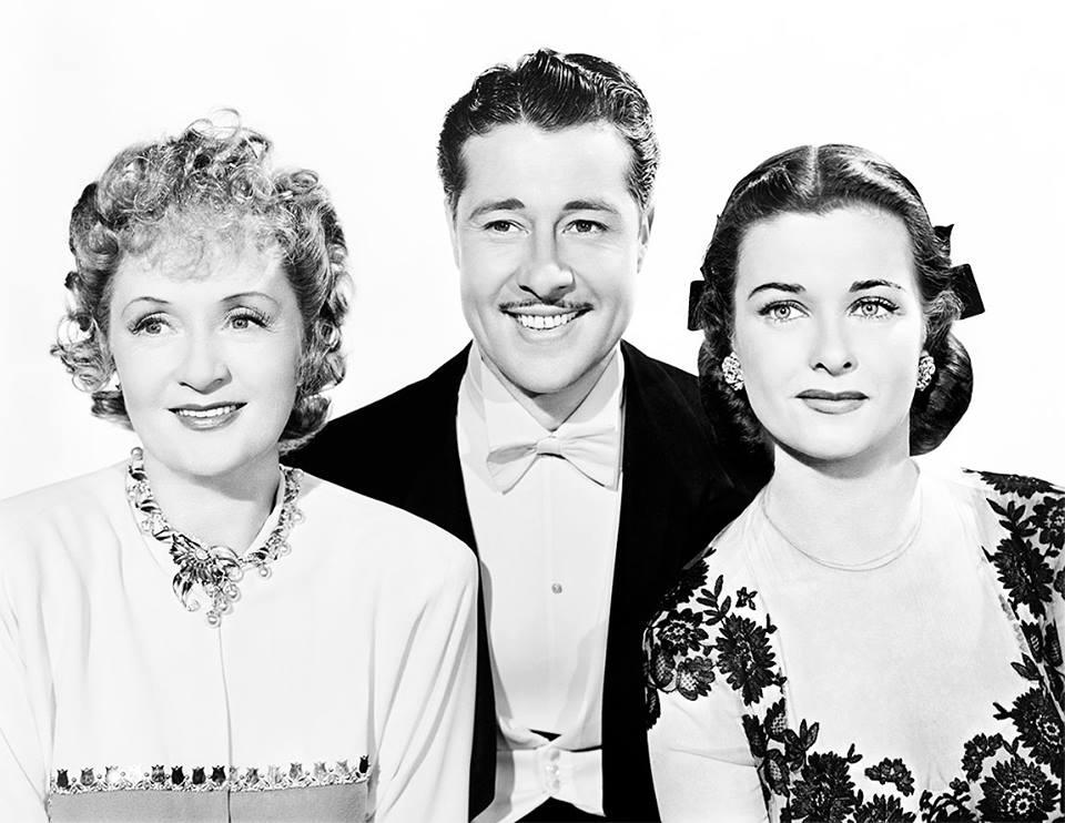 (left to right) Billie Burke, Don Ameche, and Joan Bennett