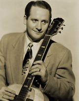Les Paul and his Trio provided much of the music for the earliest Maxwell House Coffee Time programs with Burns and Allen