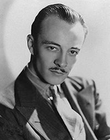 Les Tremayne publicity photo, ca 1936
