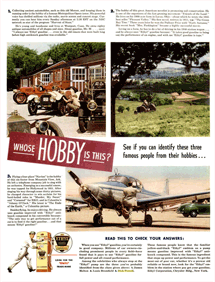 Whose Hobby is This ad for Ethyl Gasoline from LIFE magazine 47-09-02