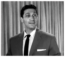 Leeds as a game show emcee in Leave it to Beaver (1959)