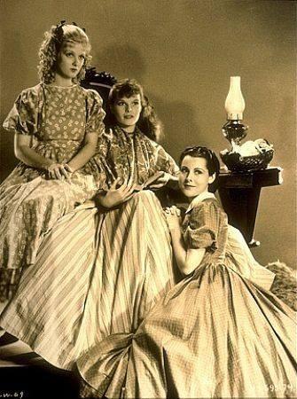 Joan Bennett, Katharine Hepburn, & Frances Dee in