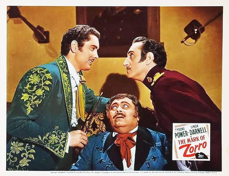Lobby card for The Mark of Zorro