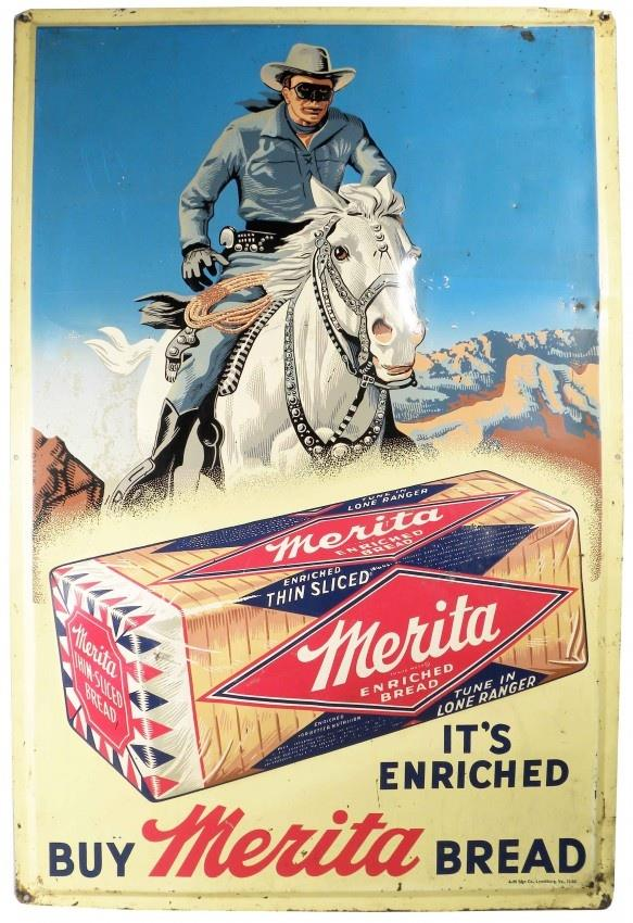 I wonder if the Lone Ranger ever stopped on the trail to enjoy a sandwich on Merita bread.