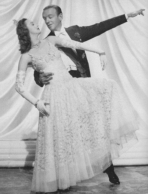 Lucille Bremer & Fred Astaire in Ziegfeld Follies