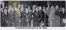 The Lud Gluskin Orchestra on the road in Amsterdam circa 1929