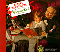 Until the advent of vintage radio recordings preserved in the public domain this 1950 M-G-M 10-inch LP (first issued in 1947) was the only practical way to hear Barrymore's A Christmas Carol after his death in 1954.