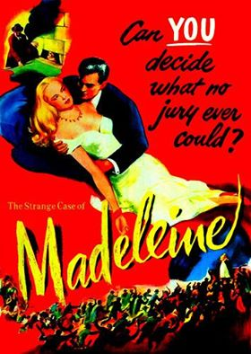 "--CRIME CLASSICS ""Madeline Smith, Maid or Murderess…Which?"" 1/20/54 CBS The show takes its trademark slightly offbeat look at the famous case of a beautiful heiress charged with poisoning one of her suitors. The same case had inspired"