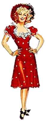 'Maisie' illustration from promotional poster for 1940's Congo Maisie