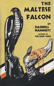 Dashiell Hammett's first novel, The Maltese Falcon, ca. 1934