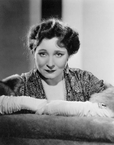 Actress Margaret Dumont in 1937.