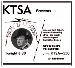 ABC Mystery Theater Spot Ad, May 5, 1954
