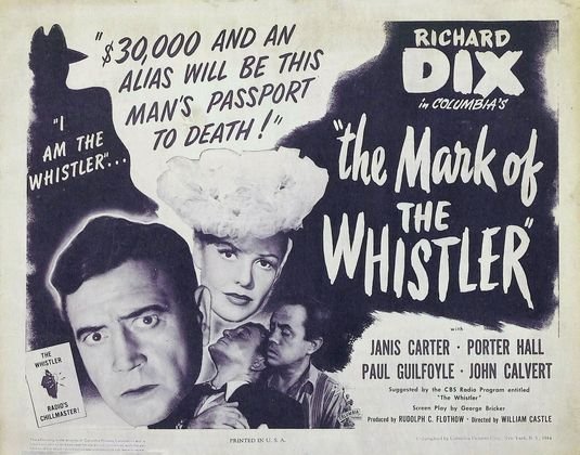 The Mark of the Whistler (1944)/The Thirteenth Hour (1947)