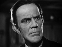 Raymond Massey as Jonathan Brewster in the 'Capra-corn' masterpiece, Arsenic and Old Lace (1944)