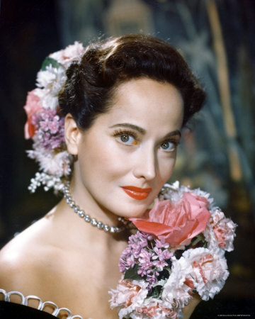 Actress Merle Oberon