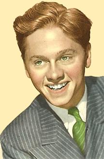 Mickey Rooney circa 1944