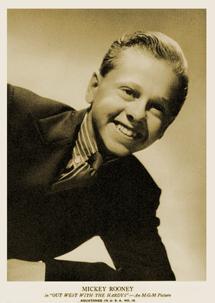 Mickey Rooney circa 1938