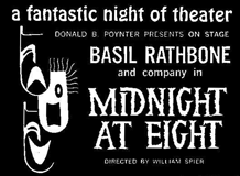 William Spier also directed Stage productions such as Midnight At Eight, ca 1958