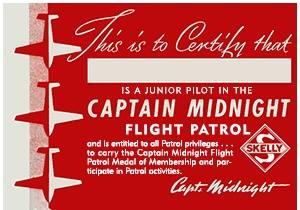Captain Midnight flight Patrol