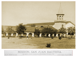 Early Mission San Juan Bautista photo