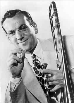 "Glenn Miller and his orchestra star in this episode of ""Moonlight Serenade,"" broadcast on CBS May 28, 1940."