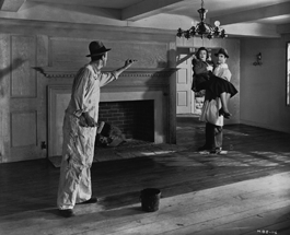 Production still from RKO's Mr. Blandings Builds His Dream House (1948)