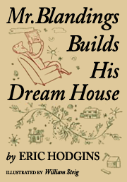 Eric Hodgins' Mr. Blandings Builds His Dream House 1st Edition slipcover