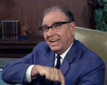 Parley Baer as Mr. Corbett in Gomer Pyle USMC from 1966