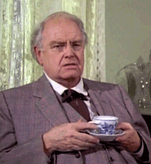Parley Baer as Mr. Williams in Little House On the Prairie from 1980