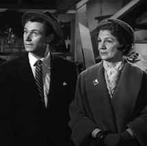 Elvia Allman appears just a wee bit dubious as Mrs. Emily Graham in My Favorite Martian (1964)