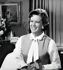 Natalie Masters as Margaret Pendleton in My Three Sons from 1964