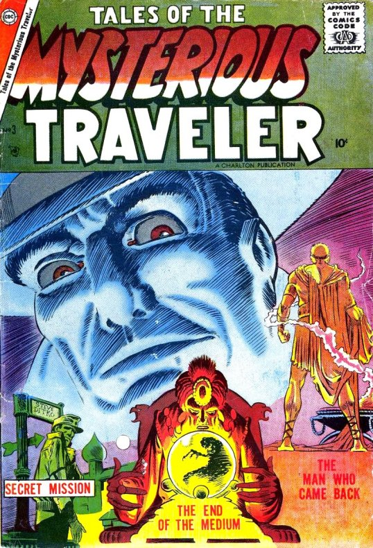 Mysterious Traveler Comic Book
