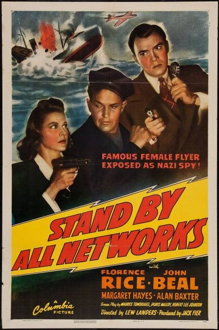 a 1942 movie about a radio newsman on the track of a Nazi spy ring.