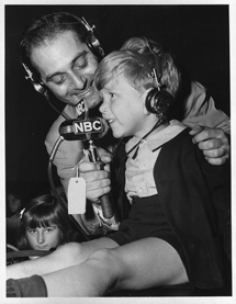 Ben Grauer interviews Tobey Balding a five year old British evacuee during a World War II Broadcast