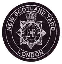 New Scotland Yard Patch ca. 1967