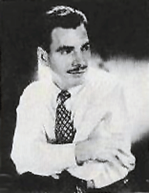 Nelson Olmsted circa 1947 from the back of the jacket of his Vanguard LP Sleep No More (1956)