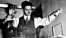 The Maestro, in his element, ca. 1942
