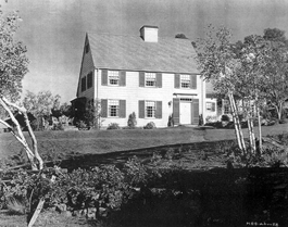 The Original Blandings House on the 20th Century Fox Malibu Hills ranch.