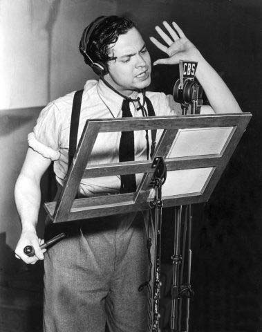Image result for orson welles old time radio