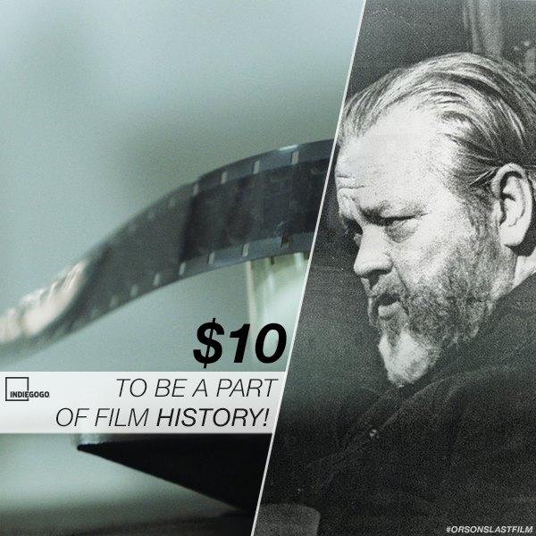 Orson Welles Orsons Last Film
