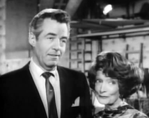 Two great stars of Stage, Screen, Radio and Television--Gerald Mohr and Estelle Winwood, in Perry Mason, ca. 1966