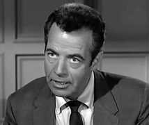 Mohr as Joe Medici in Perry mason, ca. 1961