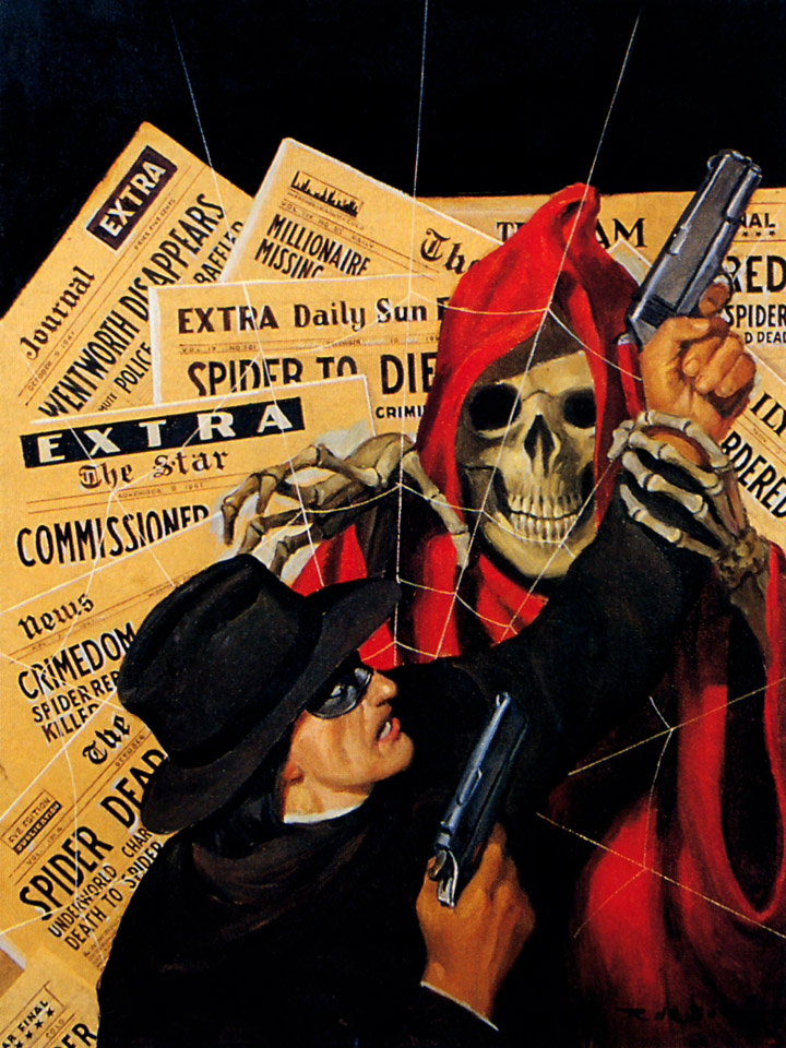 Pulp art Rafael de Soto