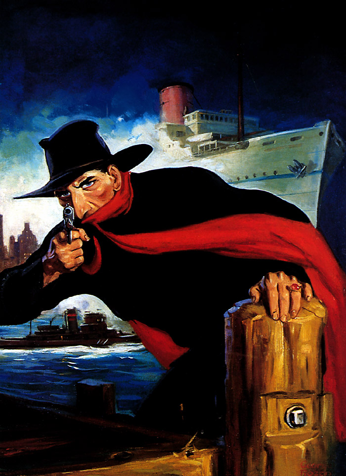 Pulp art George Rozen