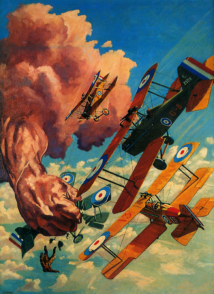 Pulp art Frederick Blakeslee