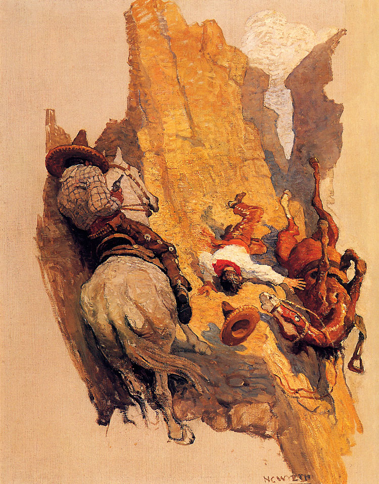 Pulp Art N C Wyeth