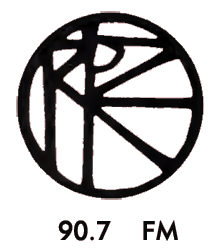 Pacifica Radio KPFK logo circa 1964